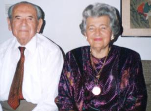Dr Weil Géza és felesége, Hédi