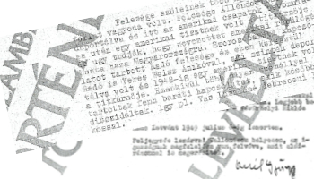 Történeti levéltár dokumentum